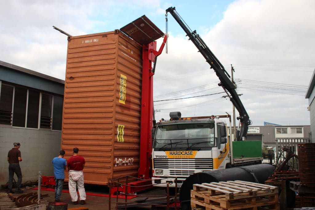 Hiab hire, truck and crane hire, container hire auckland